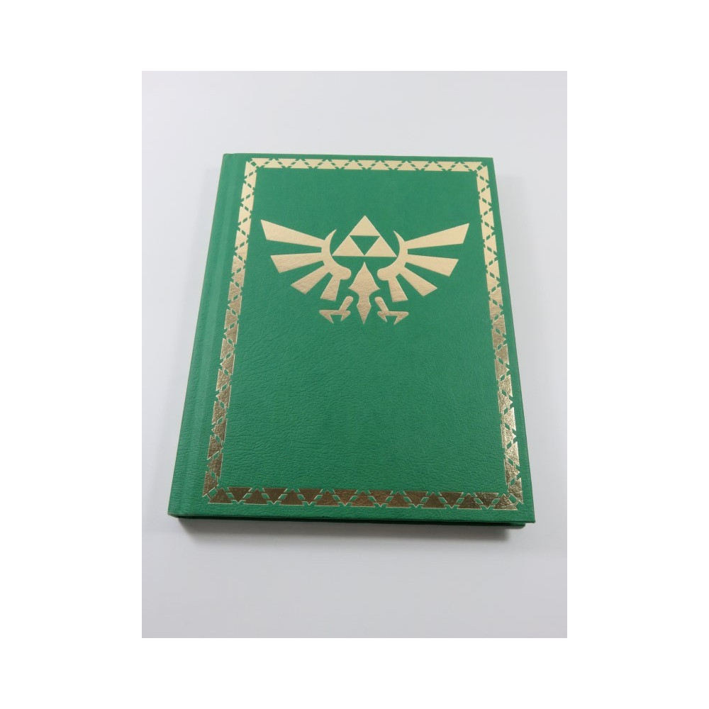 THE LEGEND OF ZELDA - SPIRIT TRACKS GUIDE COLLECTOR S EDITION BOOK USA OCCASION (WITH MAP)