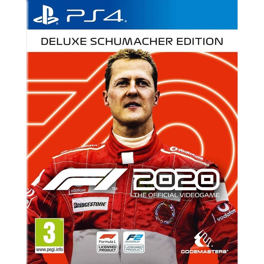 F1 2020 DELUXE SCHUMACHER EDITION PS4 FR OCCASION