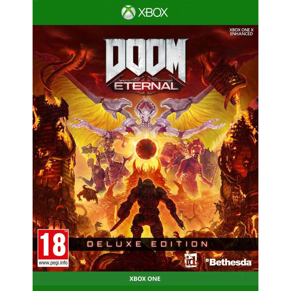 DOOM ETERNAL DELUXE EDITION XBOX ONE F OCCASION