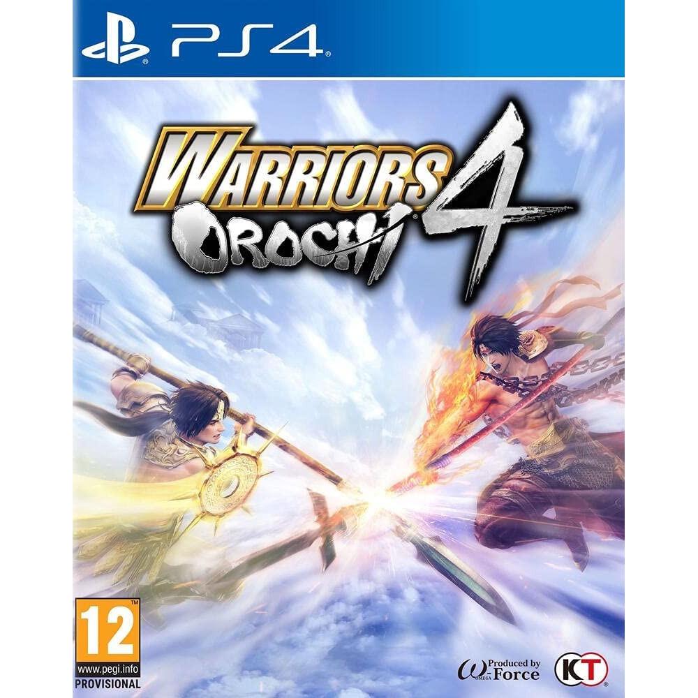 WARRIORS OROCHI 4 PS4 ITA OCCASION