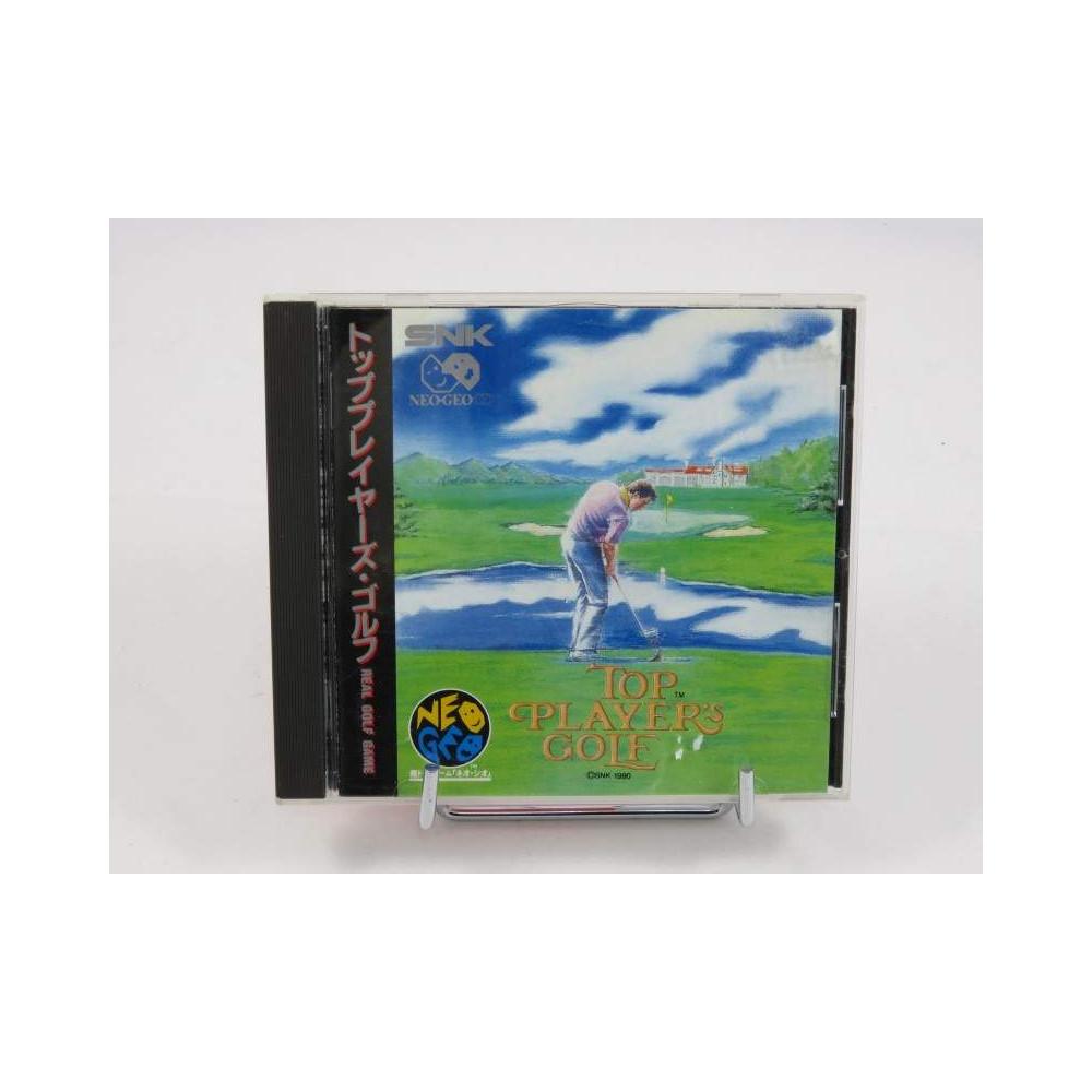 TOP PLAYER'S GOLF NEO GEO CD JPN OCCASION
