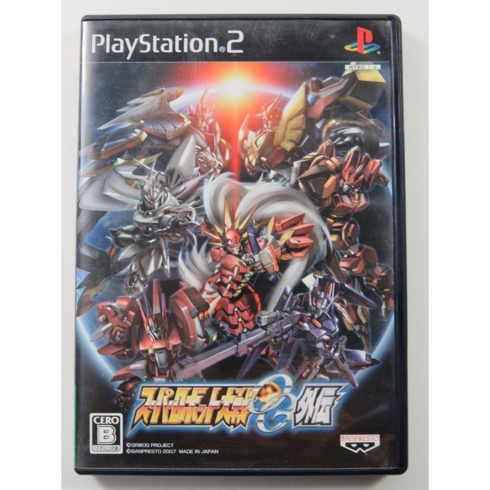 SUPER ROBOT TAISEN OG (ORIGINAL GENERATION) GAIDEN PLAYSTATION 2 (PS2) NTSC-JPN OCCASION (SANS NOTICE - WITHOUT MANUAL)