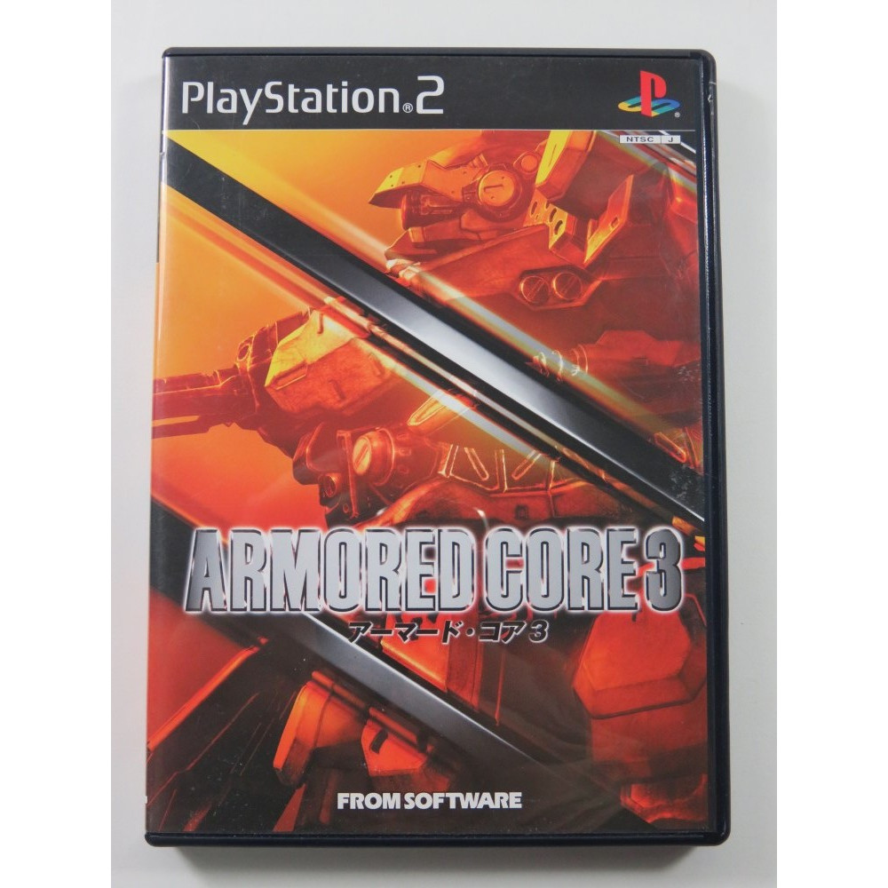 ARMORED CORE 3 PLAYSTATION 2 (PS2) NTSC-JPN OCCASION