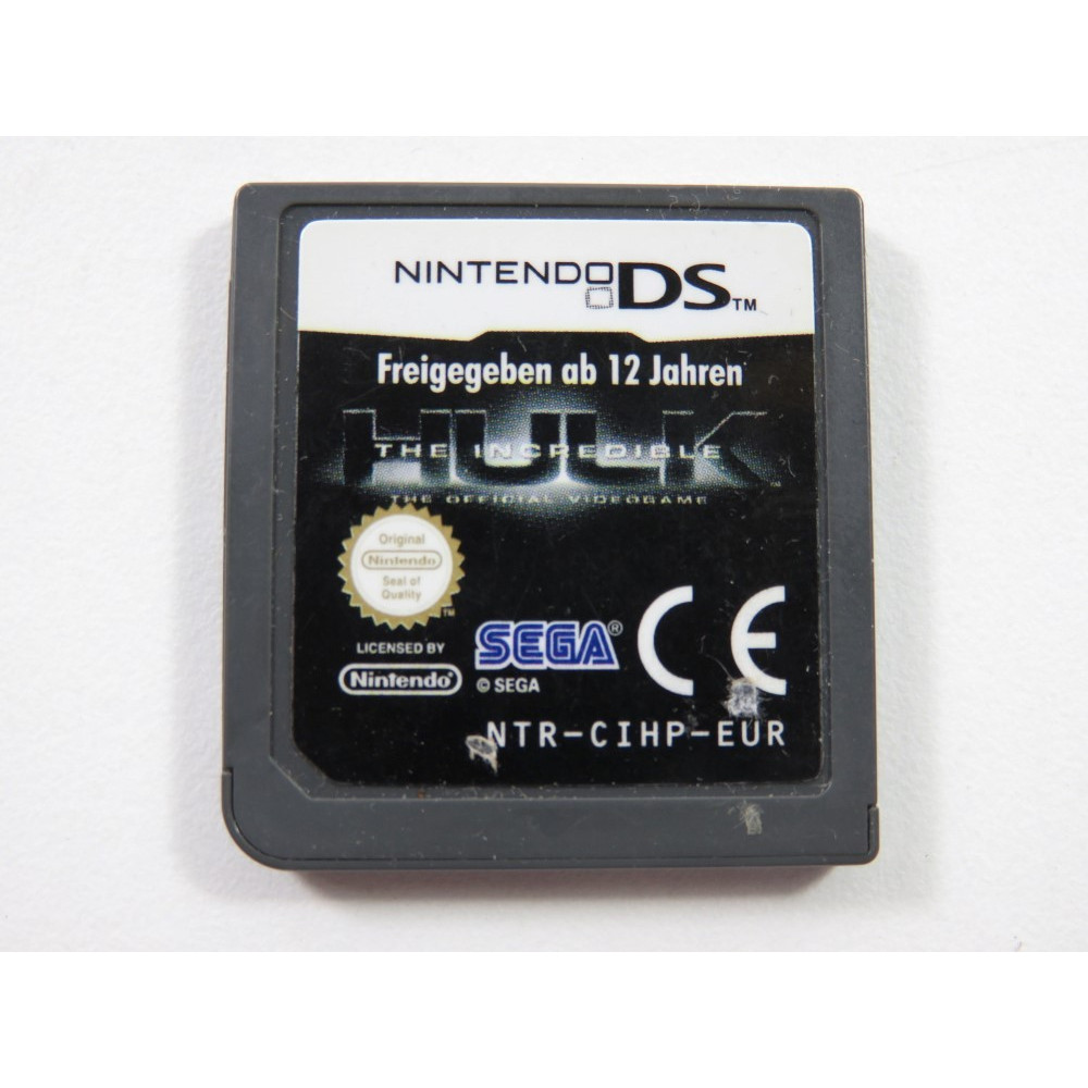 THE INCREDIBLE HULK NINTENDO DS (NDS) EUR (CARTRIDGE ONLY)