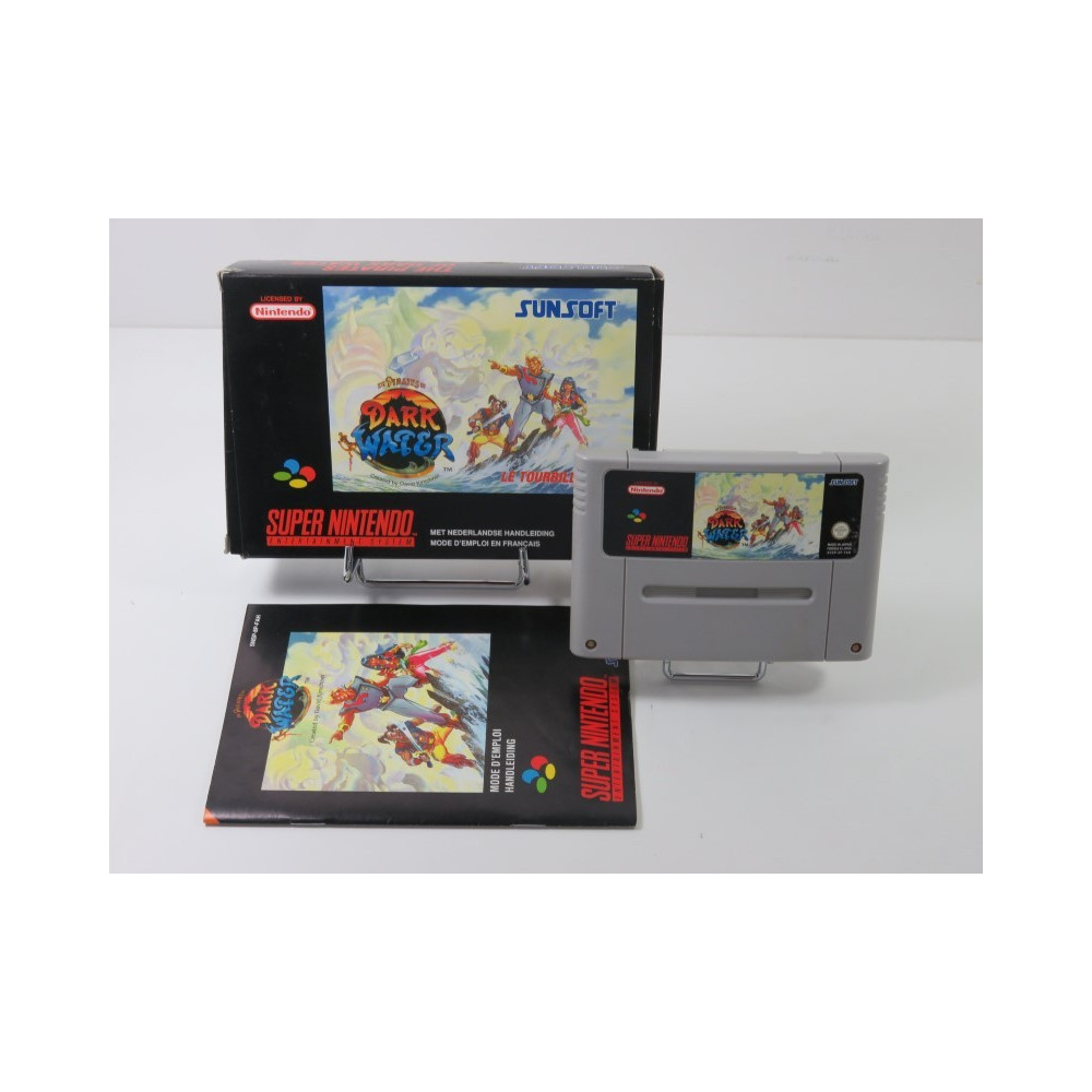 THE PIRATES OF DARK WATER SUPER NINTENDO (SNES) PAL-FAH (COMPLET - GOOD CONDITION OVERALL)