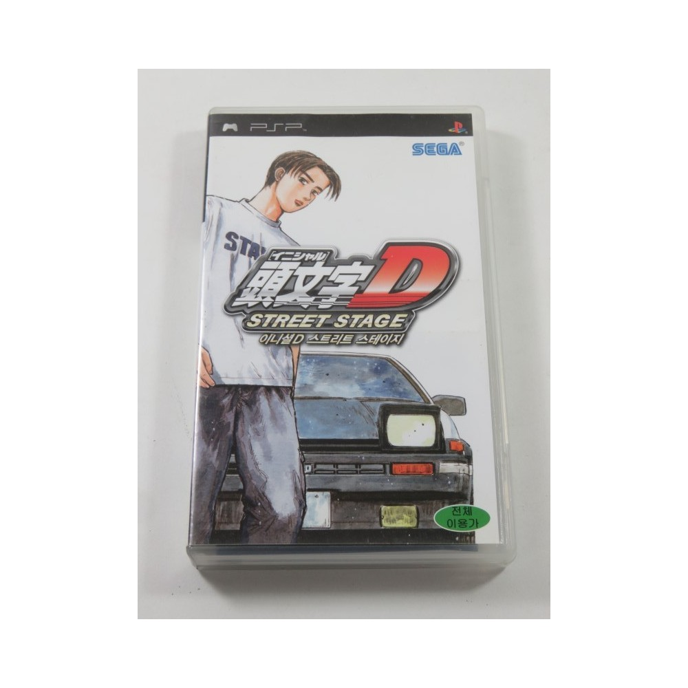 INITIAL D - STREET STAGE PSP KOREA OCCASION