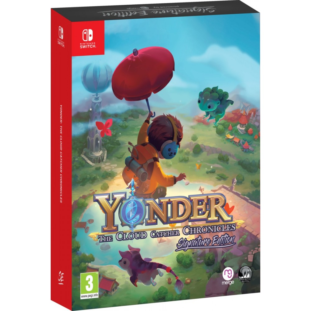 YONDER THE CLOUD CATCHER CHRONICLES ENHANCED SIGNATURE EDITION SWITCH EURO NEW