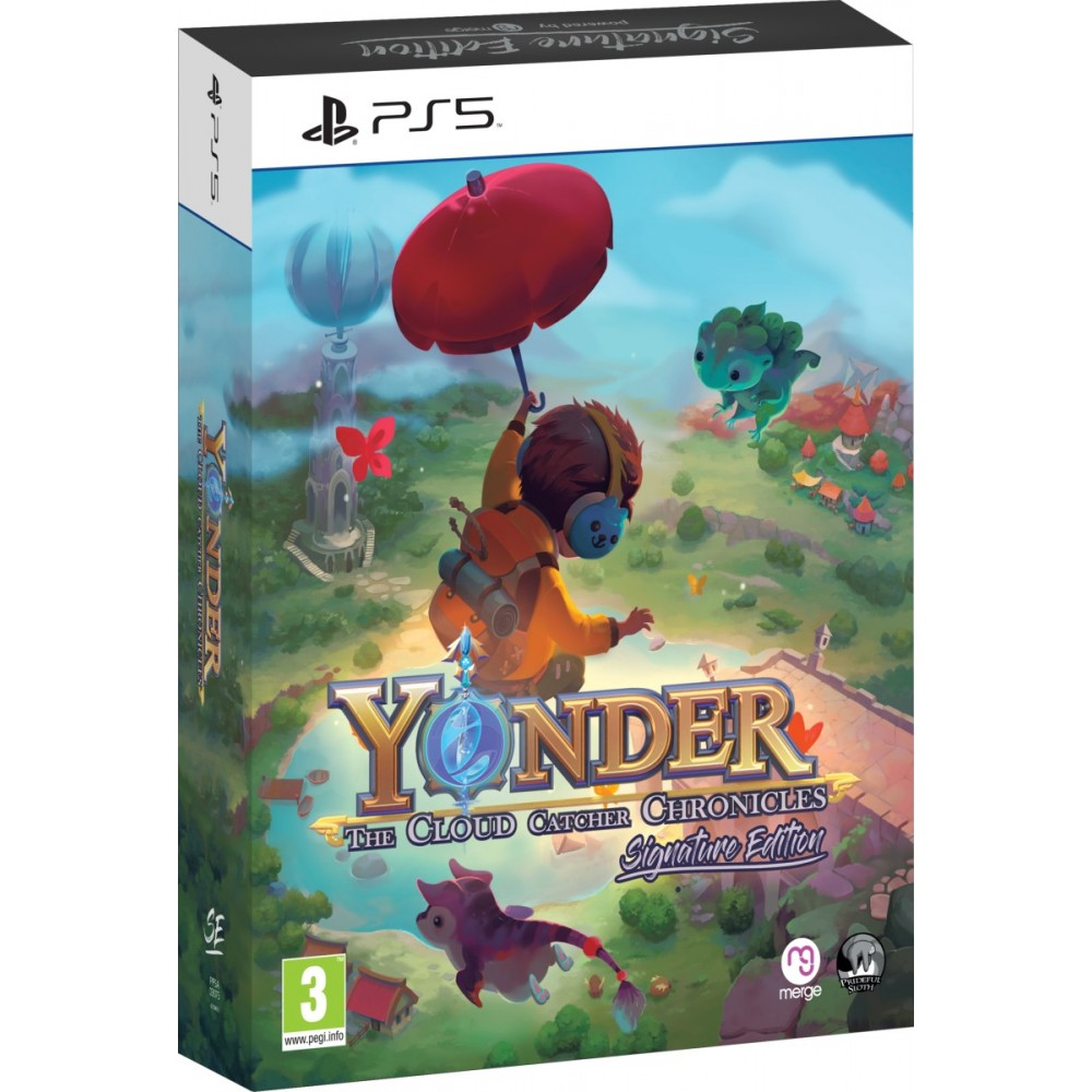 YONDER THE CLOUD CATCHER CHRONICLES ENHANCED SIGNATURE EDITION PS5 EURO NEW