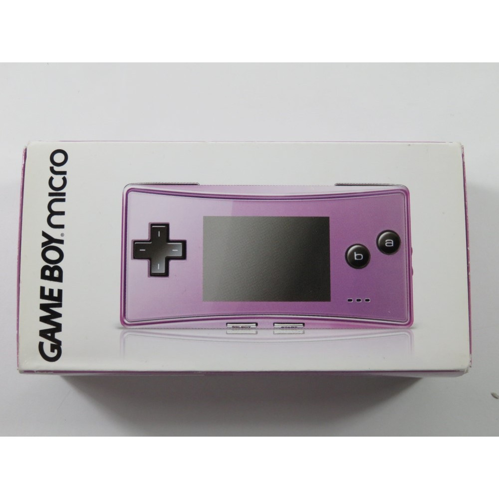 CONSOLE NINTENDO GAMEBOY MICRO PURPLE JAPAN (COMPLETE - GREAT CONDITION)