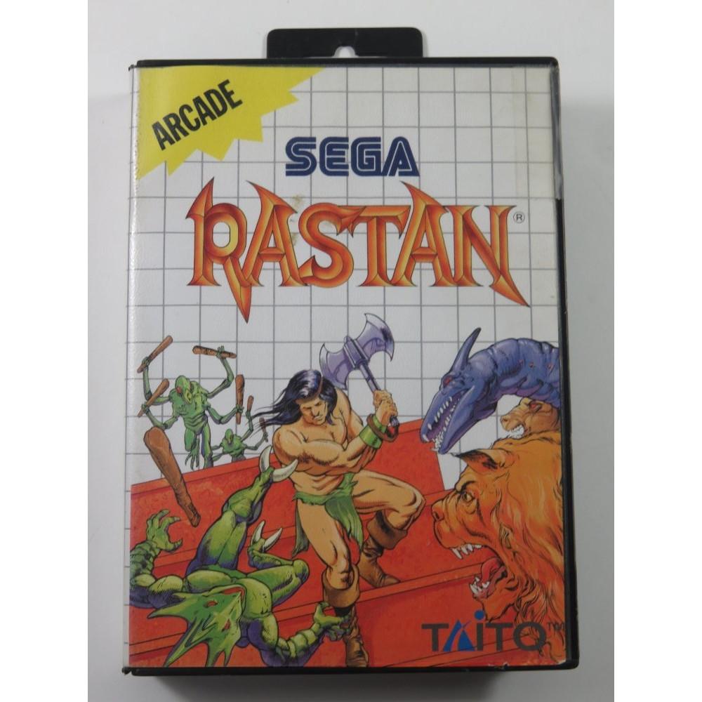 RASTAN SEGA MASTER SYSTEM (MS) PAL-EURO (SANS NOTICE - WITHOUT MANUAL)