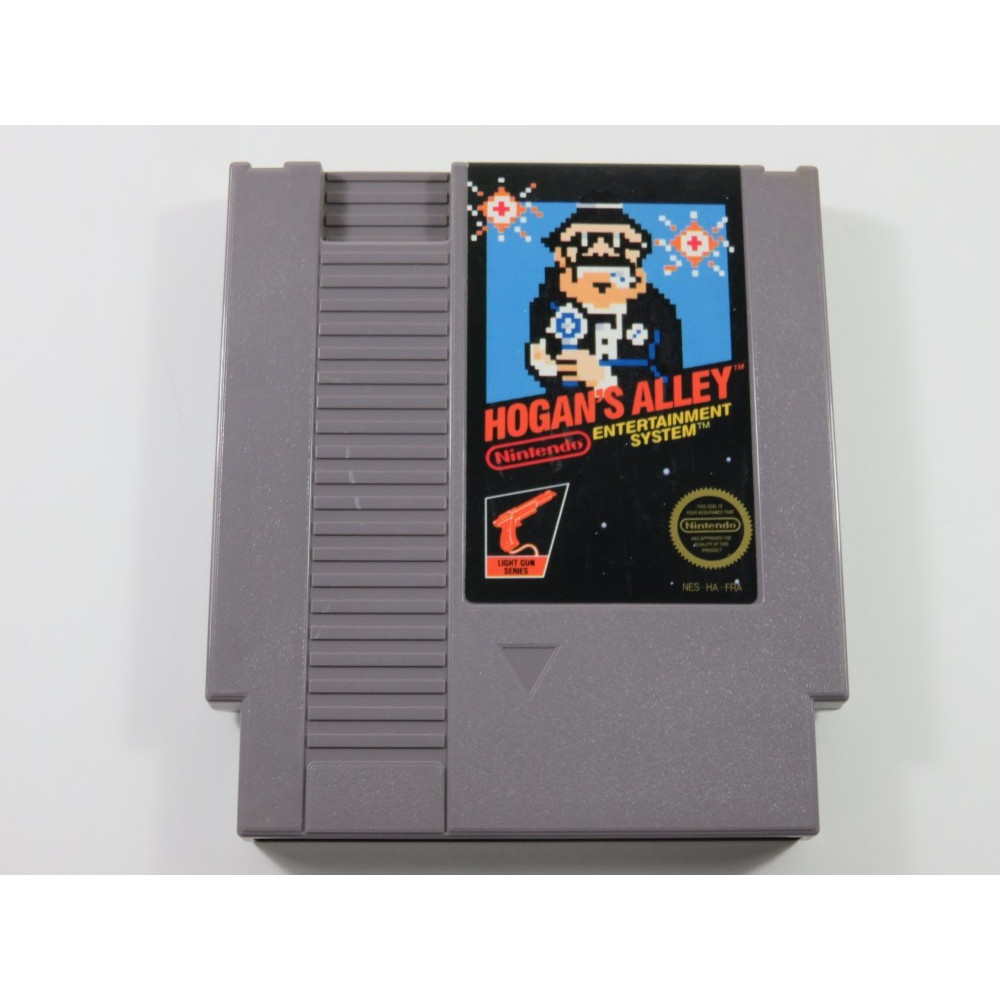 HOGAN S ALLEY NINTENDO (NES) PAL-B-FRA (CARTRIDGE ONLY - GOOD CONDITION)