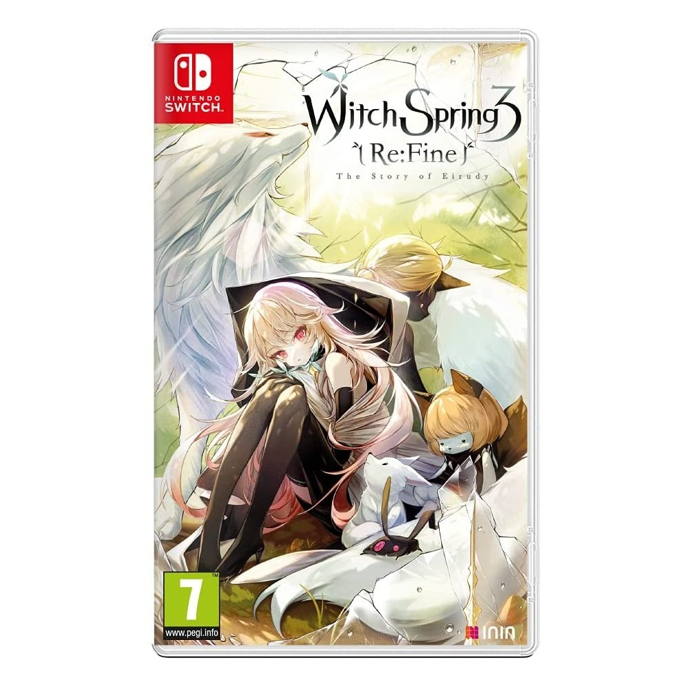WITCHSPRING3 (RE-FINE THE STORY) OF EIRUDY NINTENDO SWITCH EURO NEW