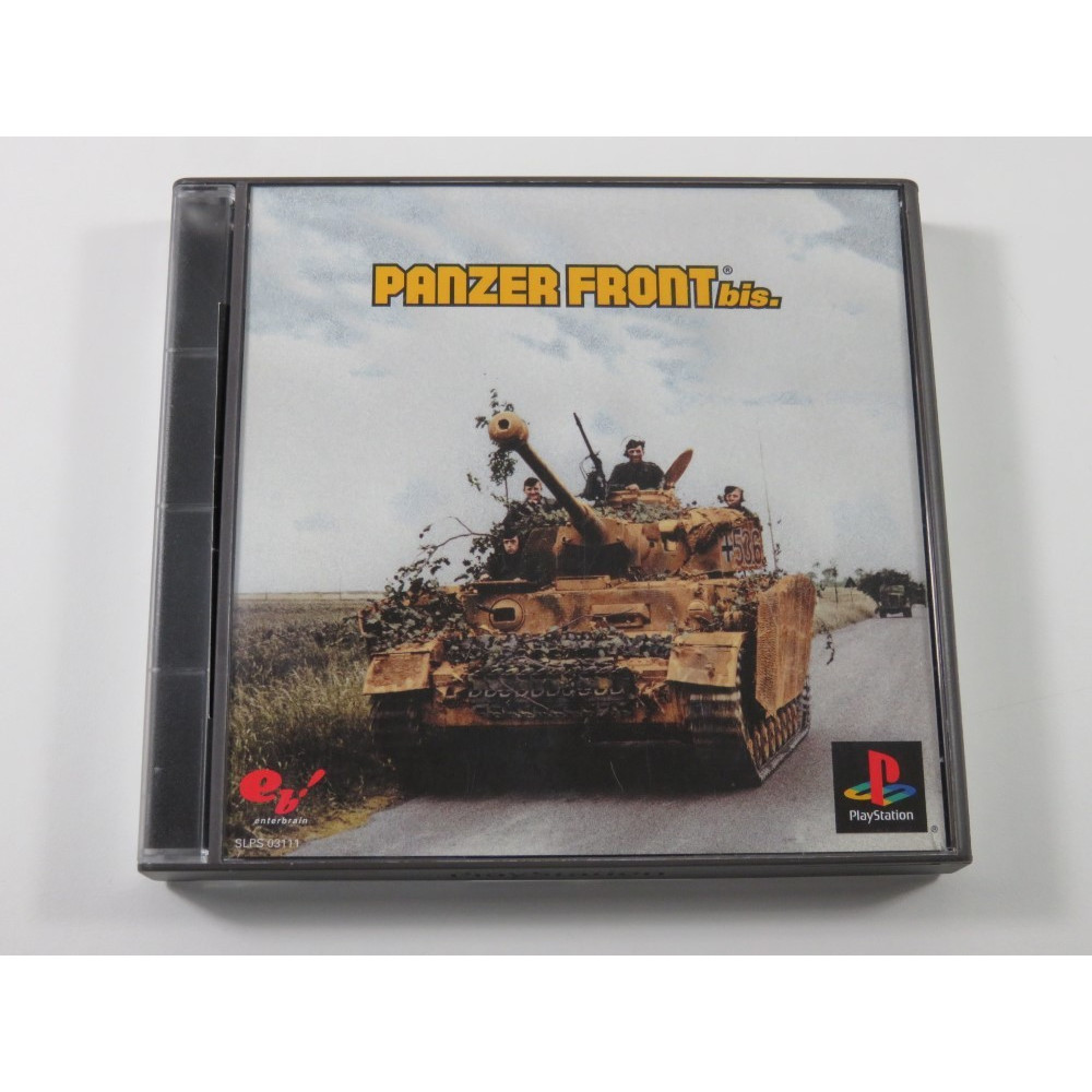 PANZER FRONT BIS PLAYSTATION (PS1) NTSC-JPN (COMPLETE WITH SPIN CARD - GOOD CONDITION OVERALL)