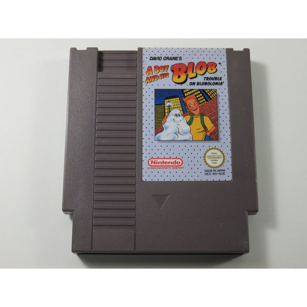 A BOY AND HIS BLOB NINTENDO NES PAL-B FRA (CARTRIDGE ONLY - GOOD CONDITION)