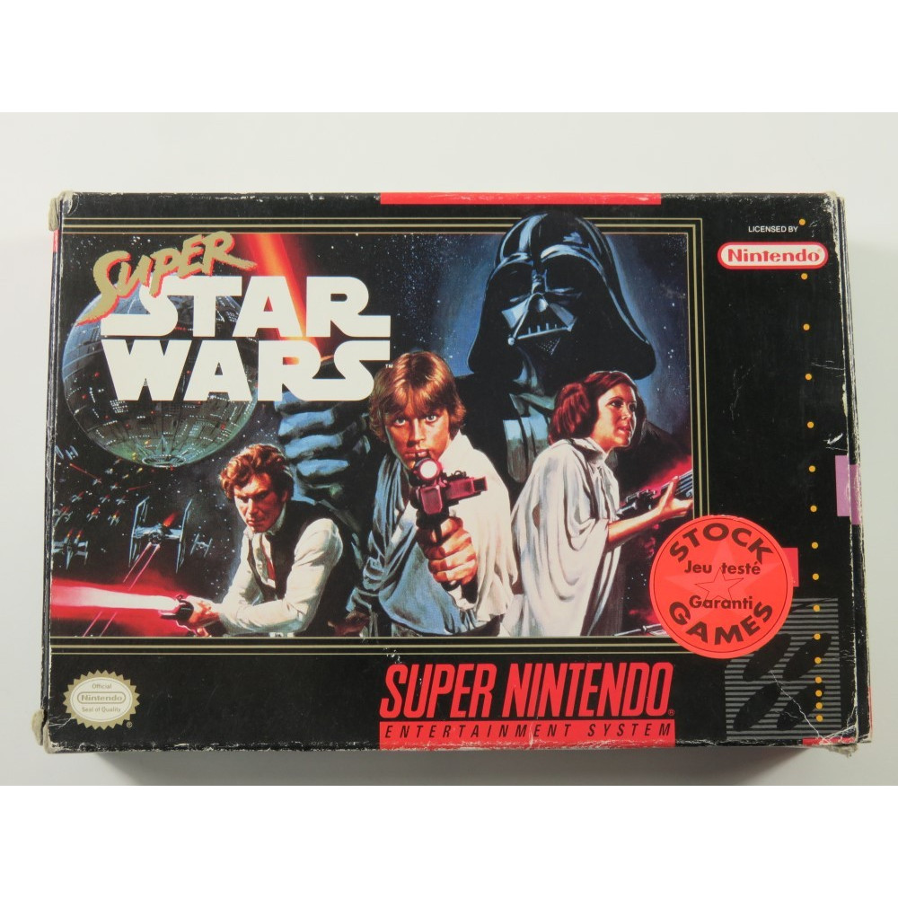 SUPER STAR WARS SUPER NES (SNES) NTSC-USA (WITHOUT MANUAL - GOOD CONDITION)