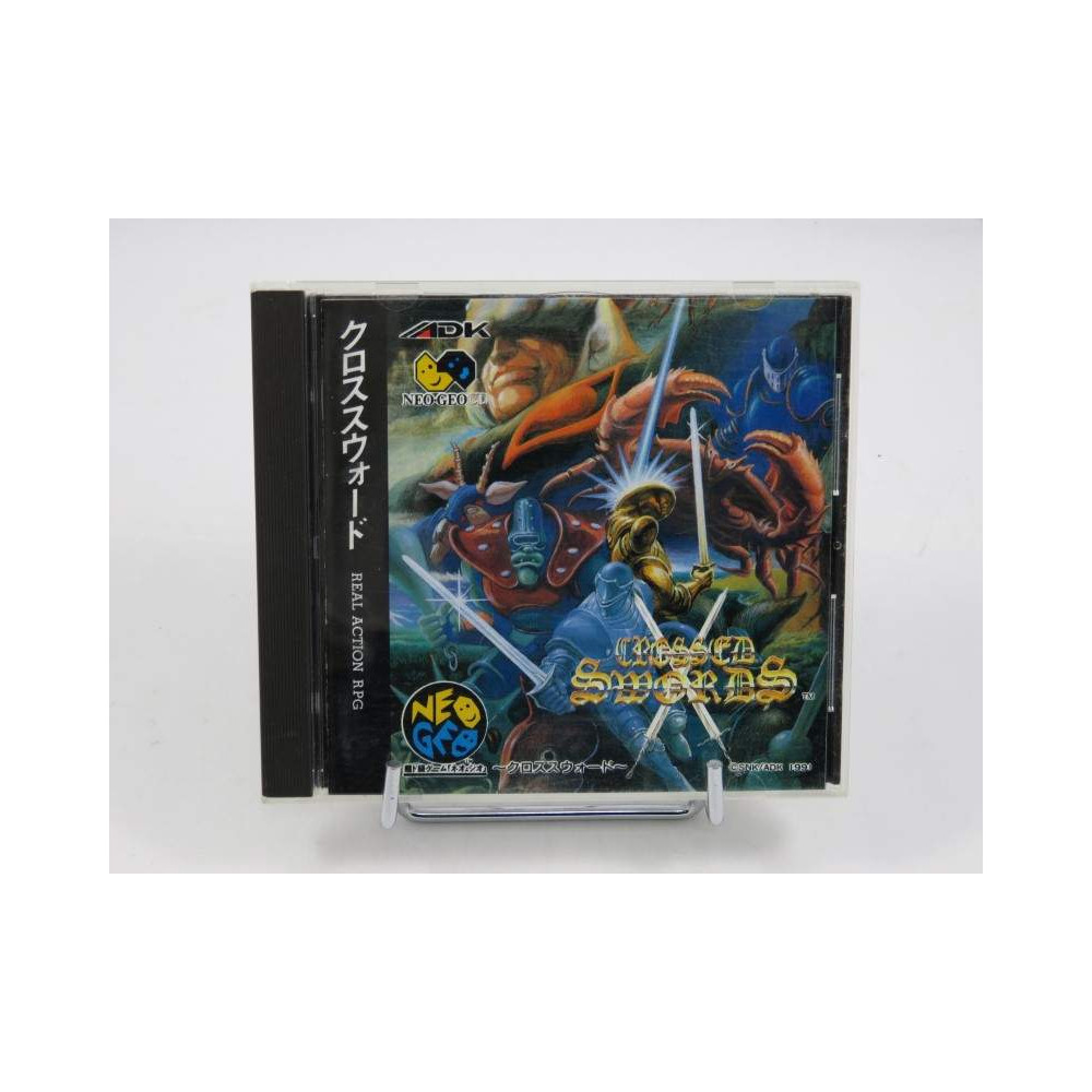 CROSSED SWORDS NEO GEO CD JPN OCCASIONN