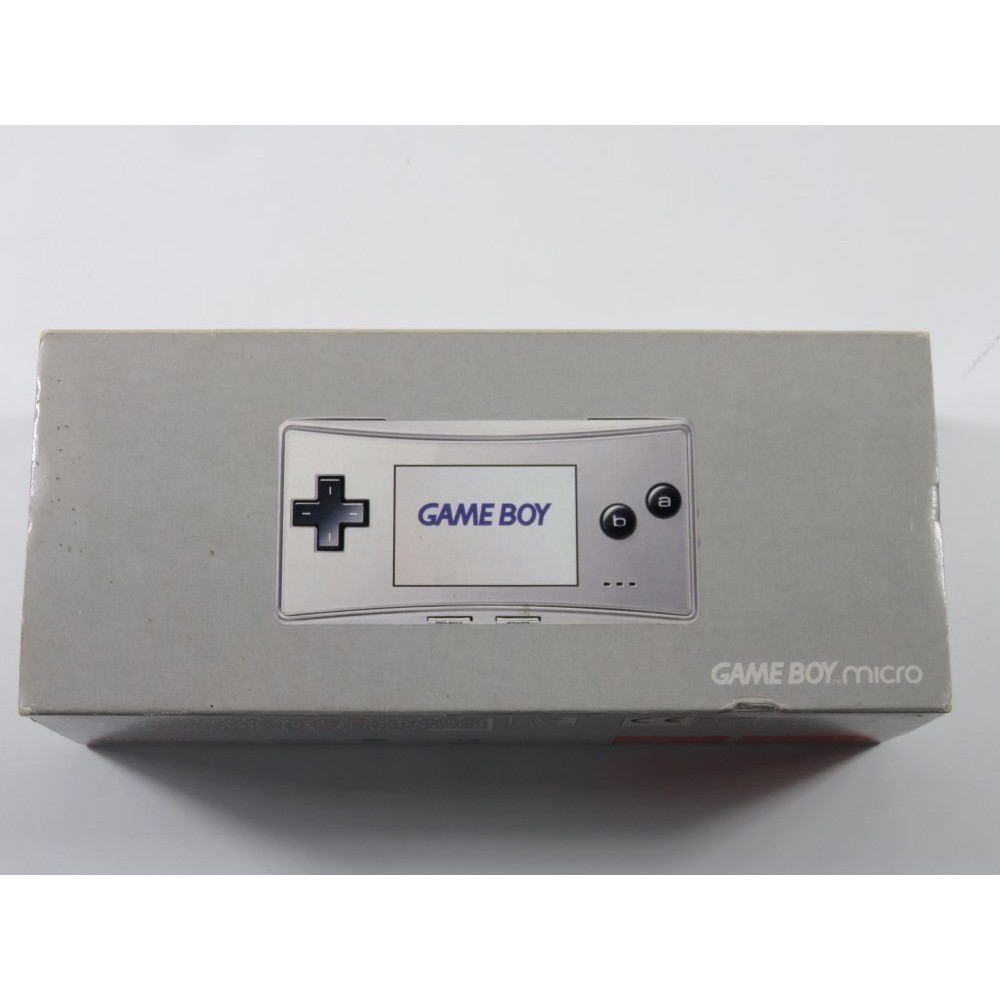 CONSOLE NINTENDO GAMEBOY MICRO GRISE (GBA) EUR (COMPLETE - GOOD CONDITION)