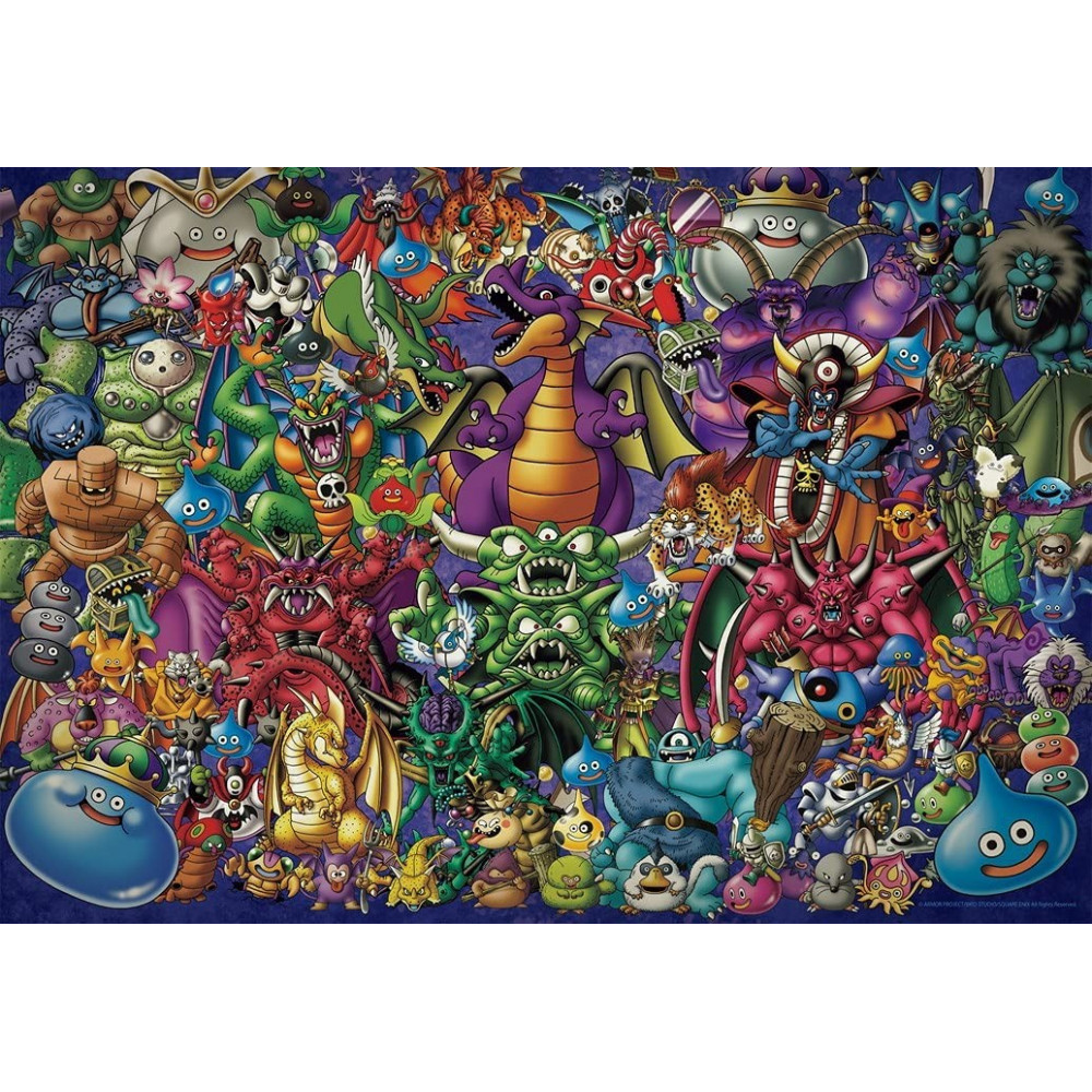 DRAGON QUEST JIGSAW PUZZLE MONSTER ASSEMBLY (1000 PIECES) JAPAN NEW