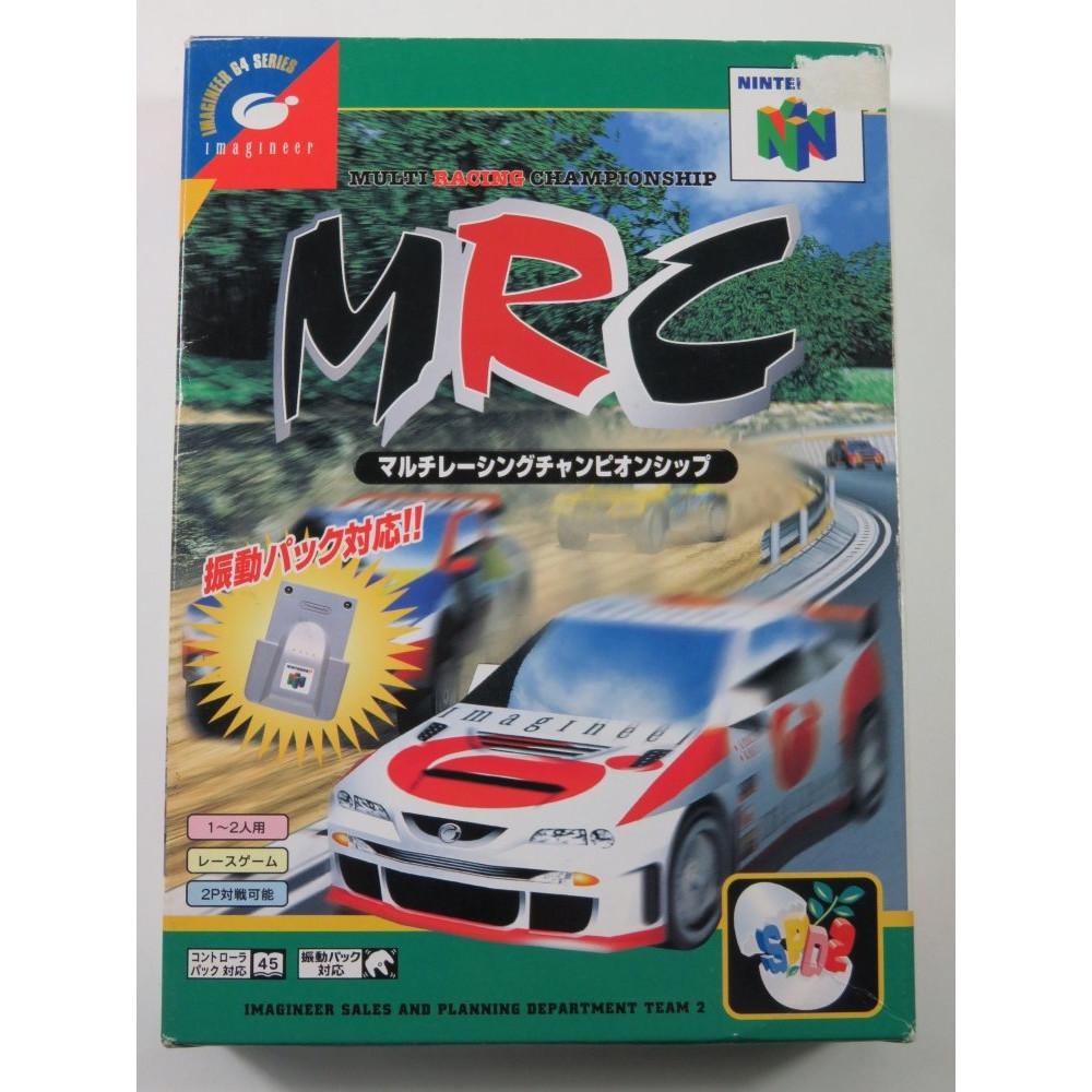 MRC MULTI RACING CHAMPIONSHIP NINTENDO 64 (N64) NTSC-JPN (COMPLETE - GOOD CONDITION)