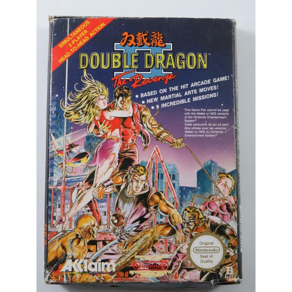 DOUBLE DRAGON II - THE REVENGE NINTENDO (NES) PAL-B-FAH (COMPLETE - GOOD CONDITION) (BEAT THEM ALL)