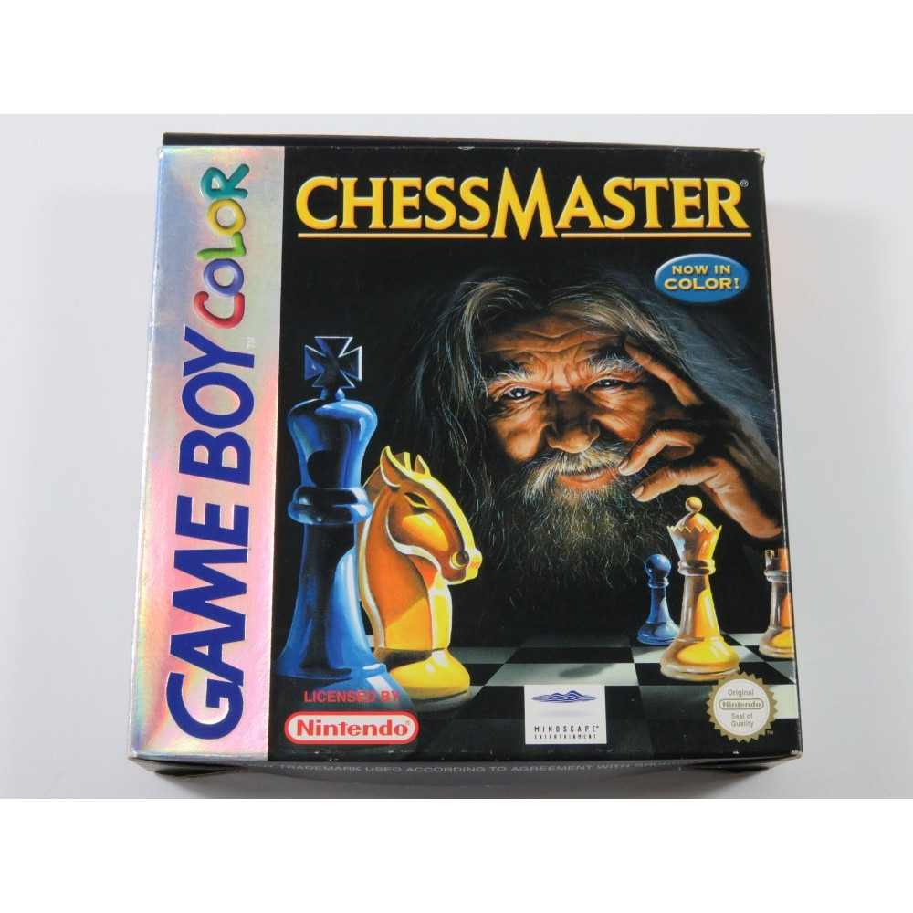 CHESSMASTERS GAMEBOY COLOR (GBC) EUR (COMPLETE - GOOD CONDITION)