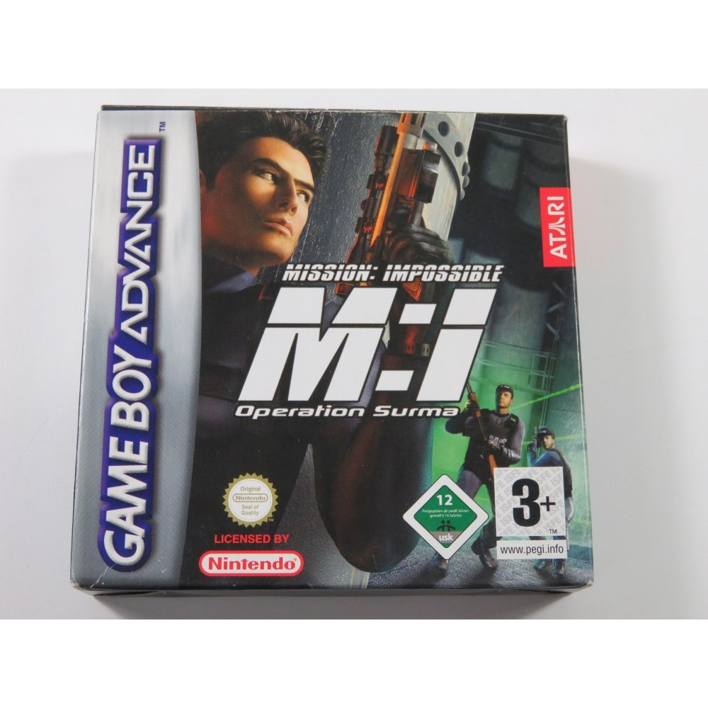 MISSION IMPOSSIBLE OPERATION SURMA NINTENDO GAMEBOY ADVANCE (GBA) EUR (COMPLETE - GREAT CONDITION)