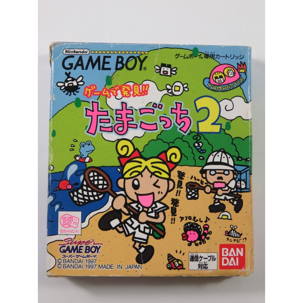 TAMAGOTCHI 2 NINTENDO GAMEBOY (GB) JAPAN (COMPLETE - GOOD CONDITION OVERALL)
