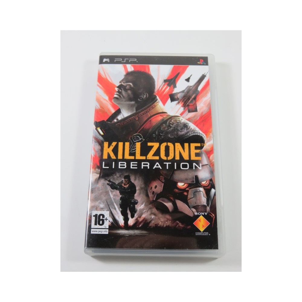 KILLZONE: LIBERATION SONY PSP UK OCCASION (JEU EN FR)