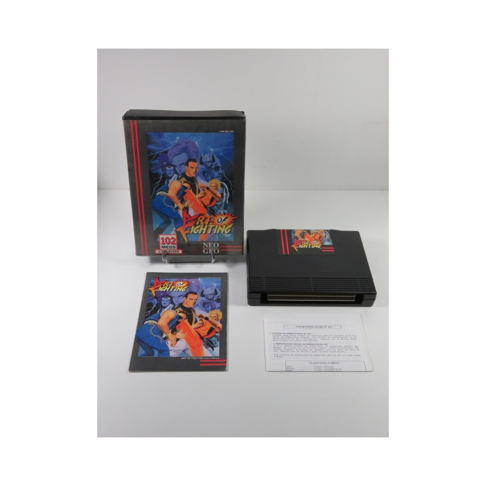ART OF FIGHTING - RYUUKO NO KEN SNK NEO GEO AES USA IMPORT EUROPE (DOUBLE NOTICES - COMPLET - GOOD CONDITION OVERALL)