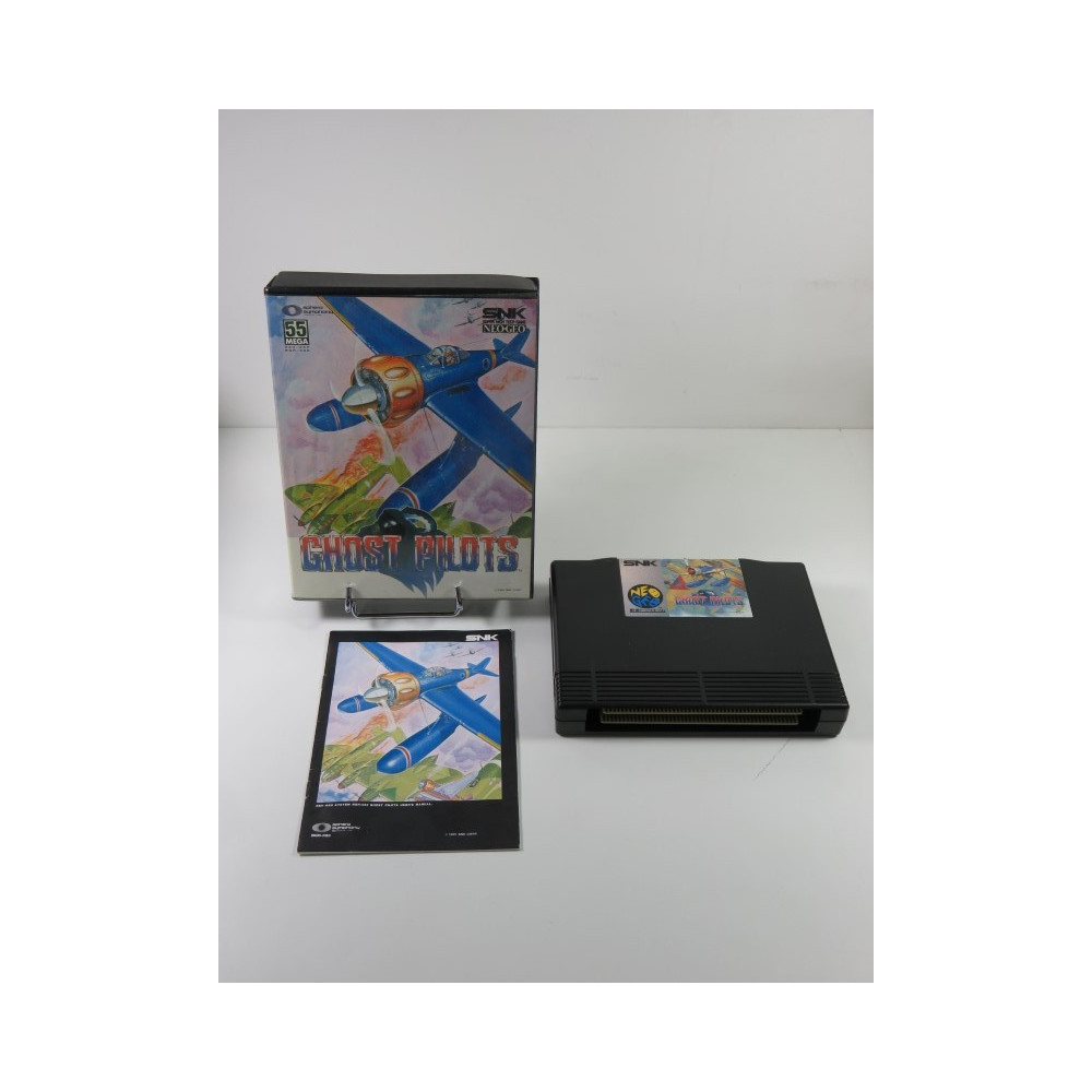 GHOST PILOTS SNK NEO GEO AES USA (COMPLET - GOOD CONDITION OVERALL)