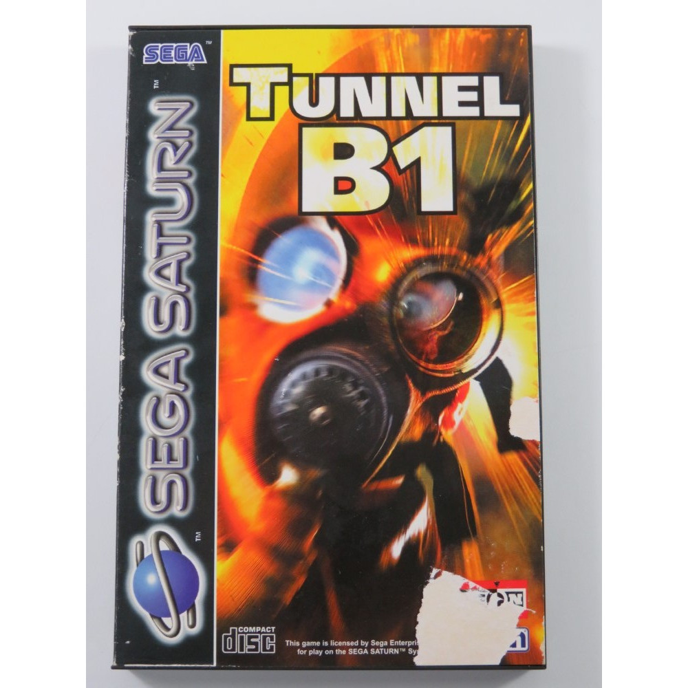 TUNNEL B1 SEGA SATURN PAL-EURO (COMPLET - GOOD CONDITION OVERALL)