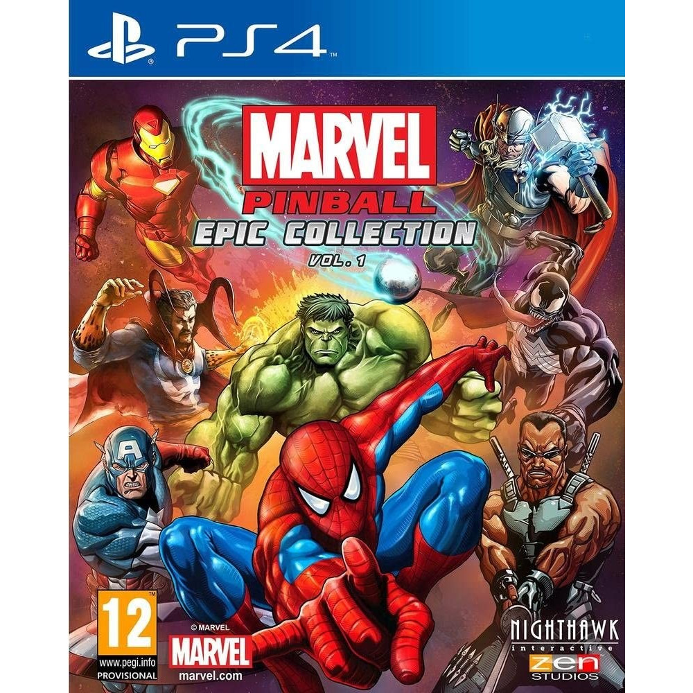 MARVEL PINBALL EPIC COLLECTION VOLUME 1 PS4 FR OCCASION