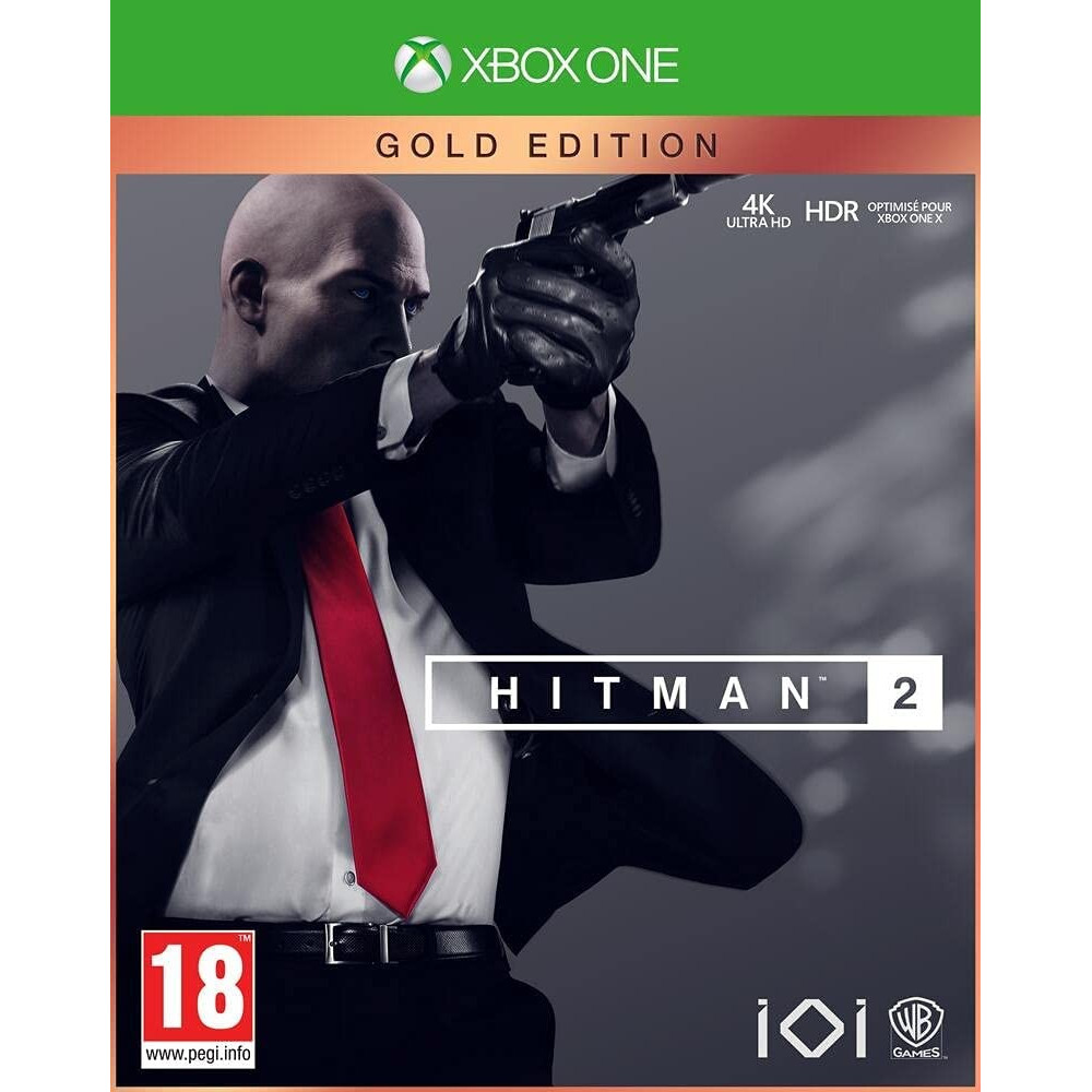 HITMAN 2 GOLD (STEELBOOK) EDITION XBOX ONE FR OCCASION