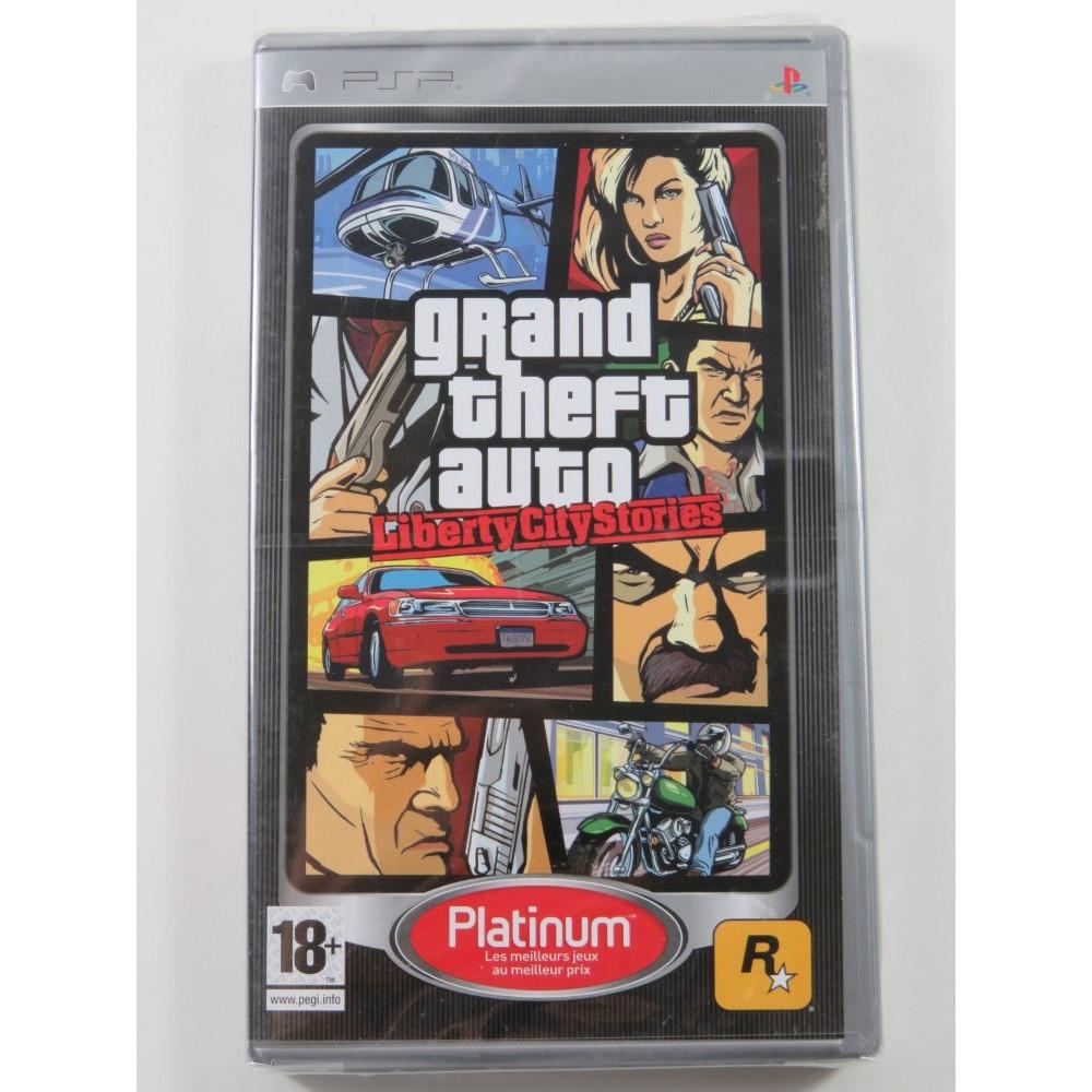 GRAND THEFT AUTO(GTA) LIBERTY CITY STORIES PLATINUM PSP FR NEW