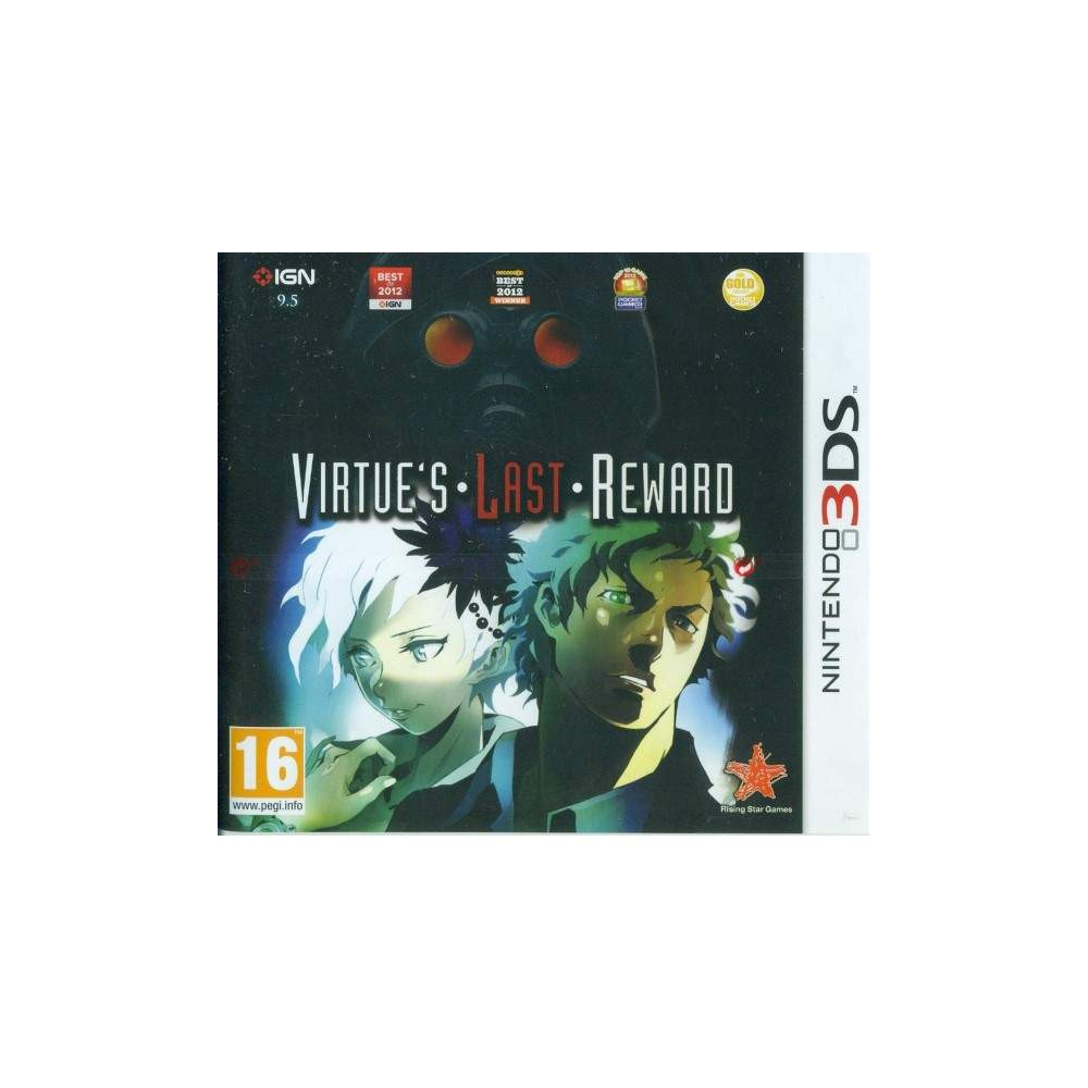VIRTUE'S LAST REWARD 3DS UK OCCASION