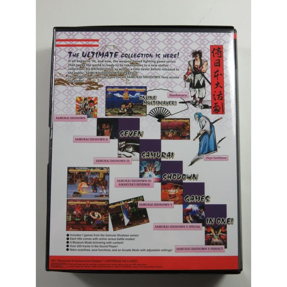 SAMURAI SHODOWN NEOGEO COLLECTION COLLECTOR PS4 USA OCCASION (LIMITED RUN GAMES)