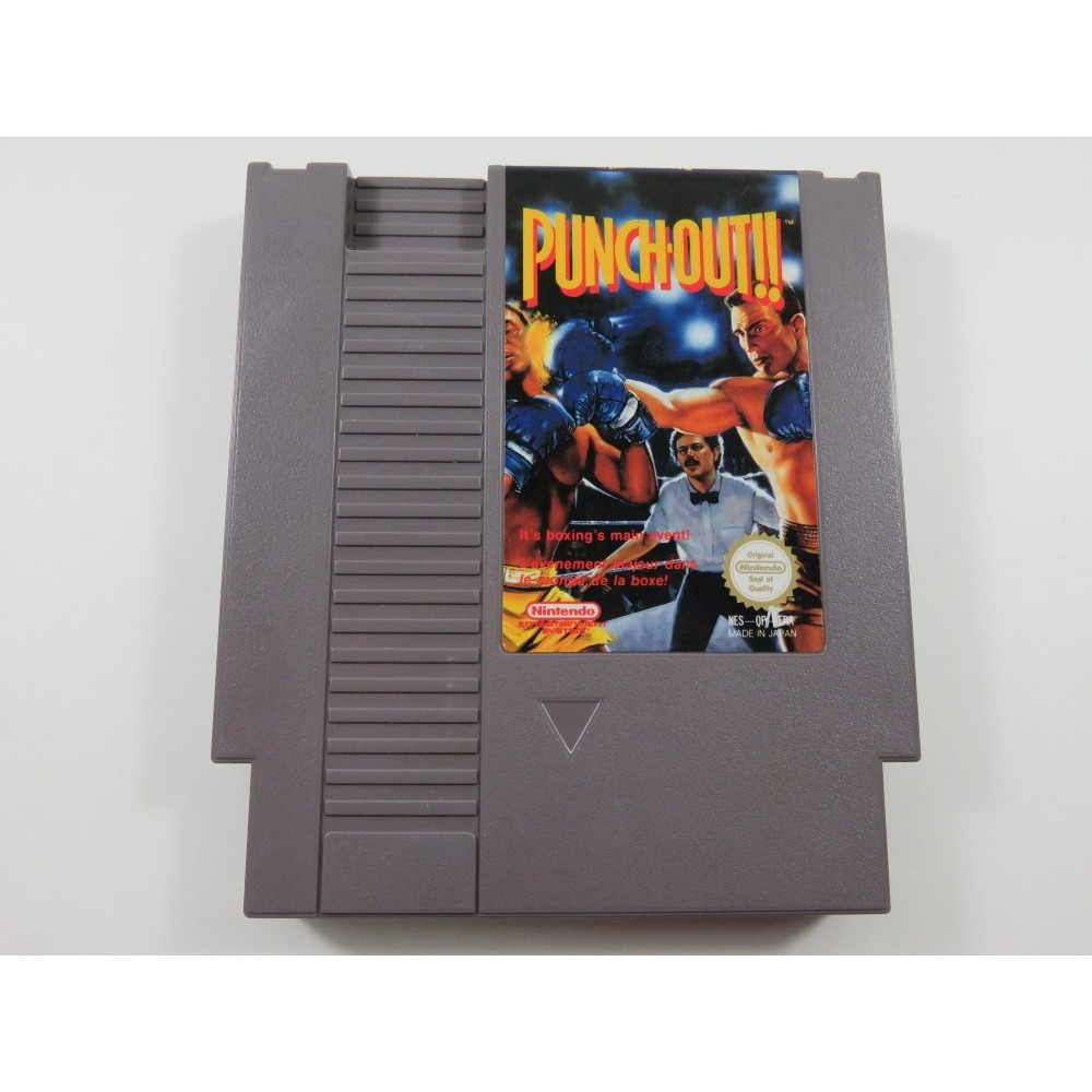 PUNCH-OUT NINTENDO NES PAL-B FRA (CARTRIDGE ONLY)