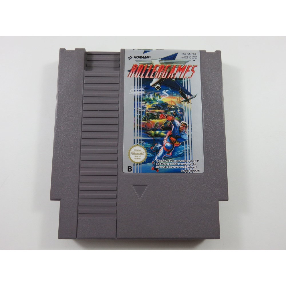 ROLLERGAMES NINTENDO NES PAL-B FAH-1 (CARTRIDE ONLY)