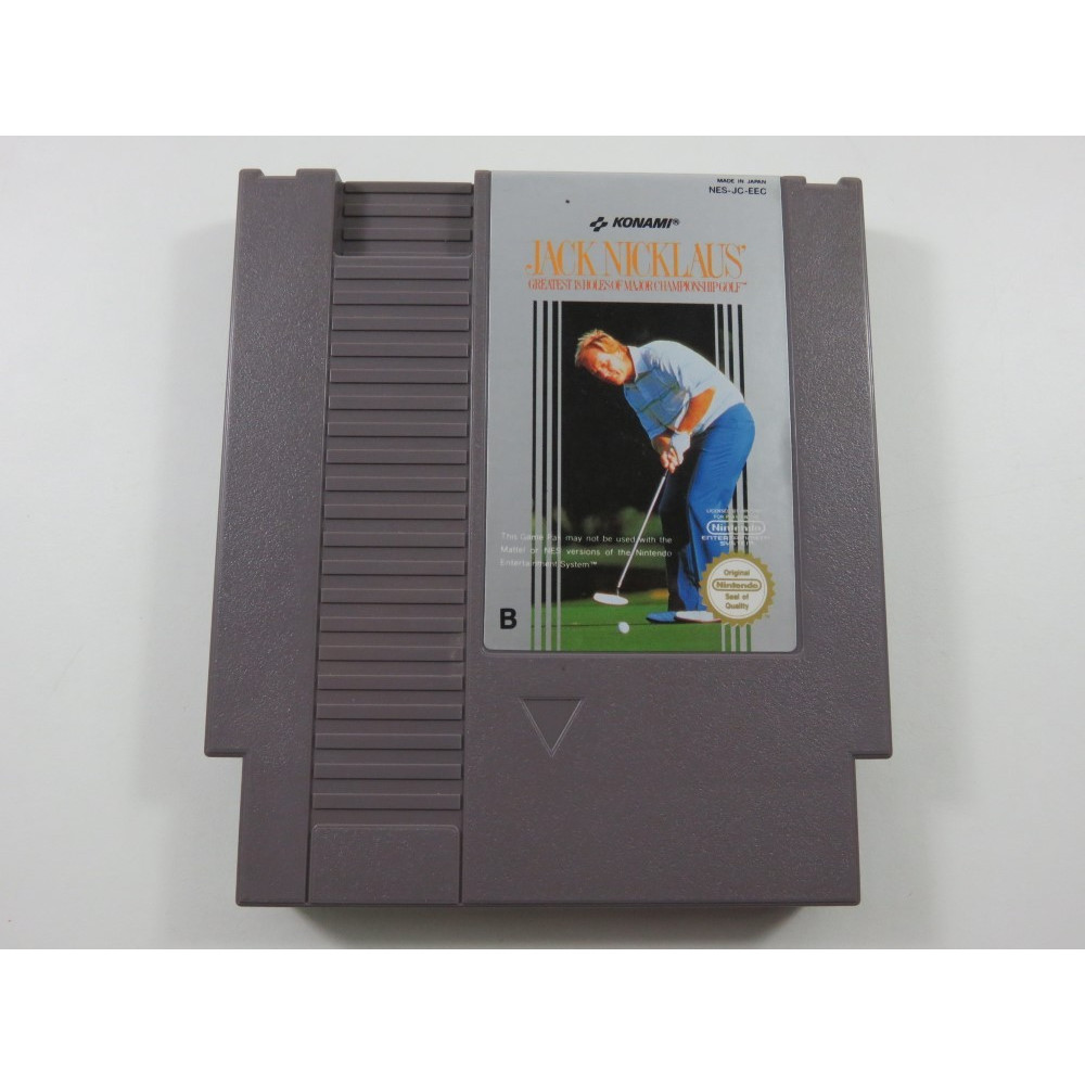 JACK NICKLAUS NINTENDO NES PAL-B FRA (CARTRIDGE ONLY - GOOD CONDITION)
