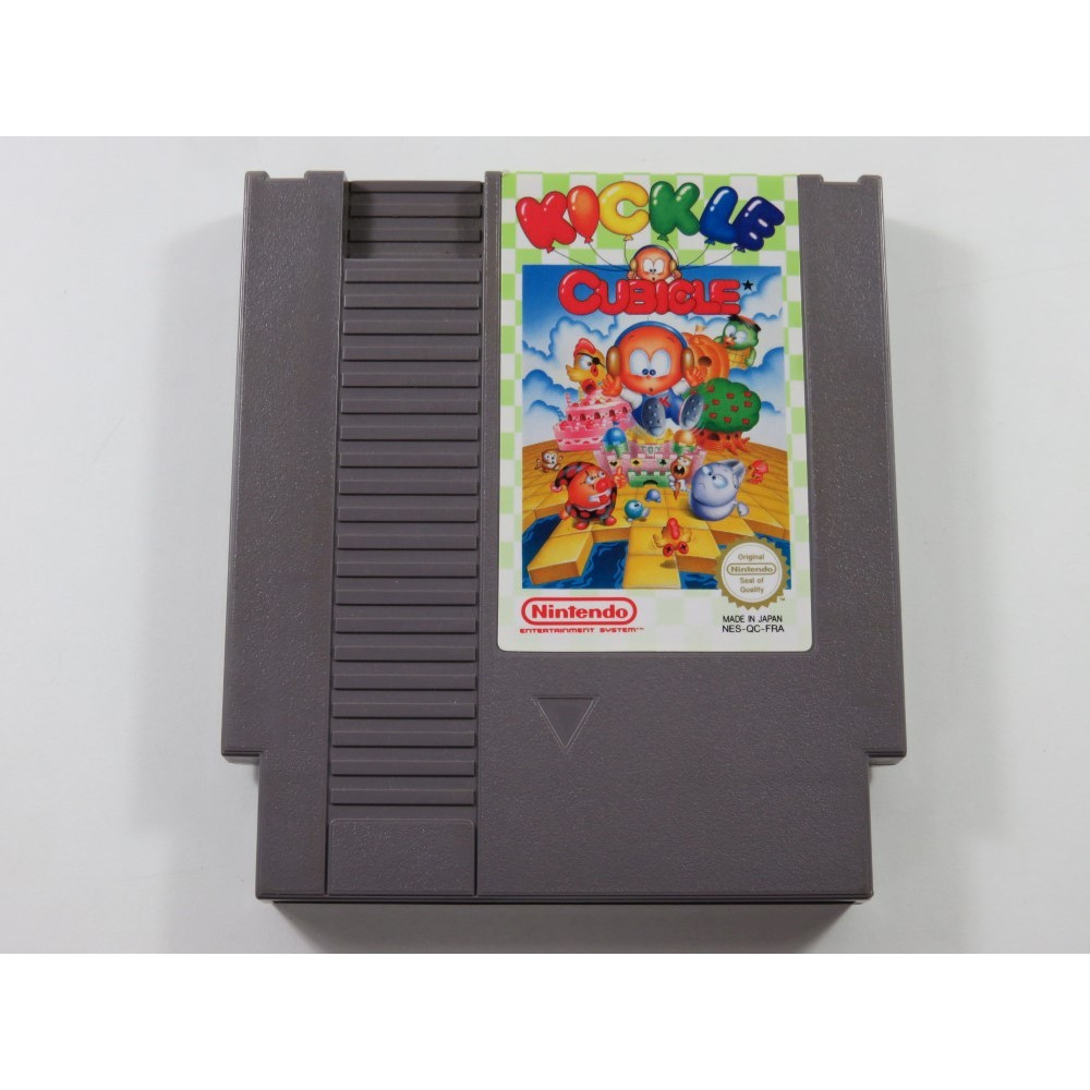 KICKLE CUBICLE NINTENDO NES PAL-B FRA (CARTRIDGE ONLY - GOOD CONDITION)