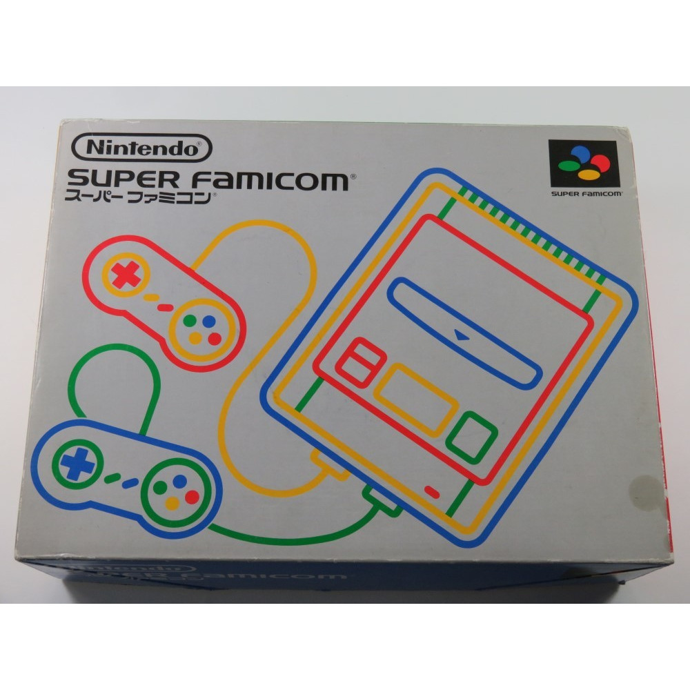 CONSOLE SUPER FAMICOM MODIFIEE SWITCHLESS (50/60 HZ) (COMPLETE (NOTICE NOT MATCHING) - GOOD CONDITION) SERIAL:S15075375