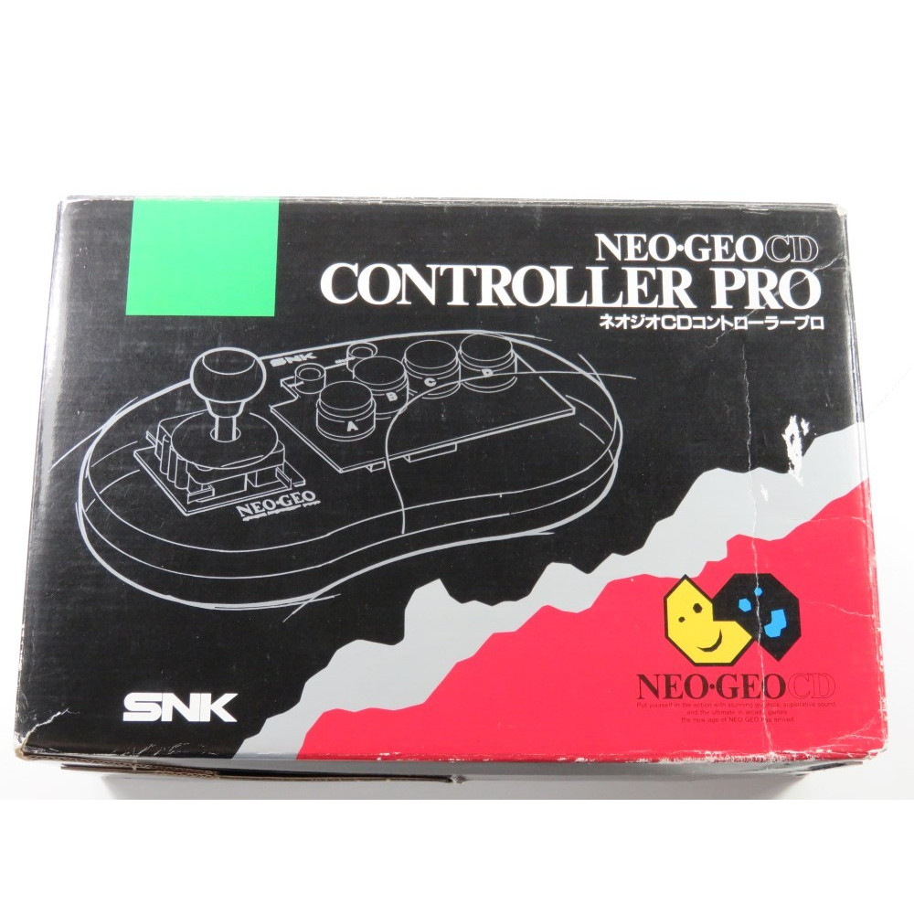 CONTROLLER PRO NEOGEO CD JAPAN (BOXED - WITHOUT MANUAL AND HOLD)