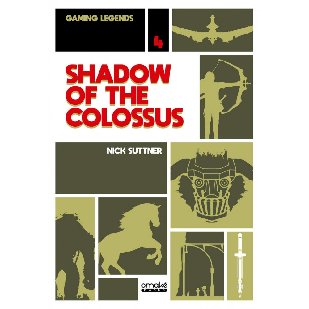 SHADOW OF THE COLOSSUS GAMING LEGENDS VOLUME 4 OMAKE BOOKS SUTTNER NEW