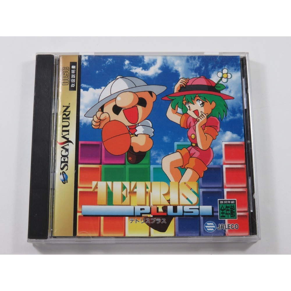 TETRIS PLUS SEGA SATURN NTSC-JPN (COMPLETE - GOOD CONDITION)