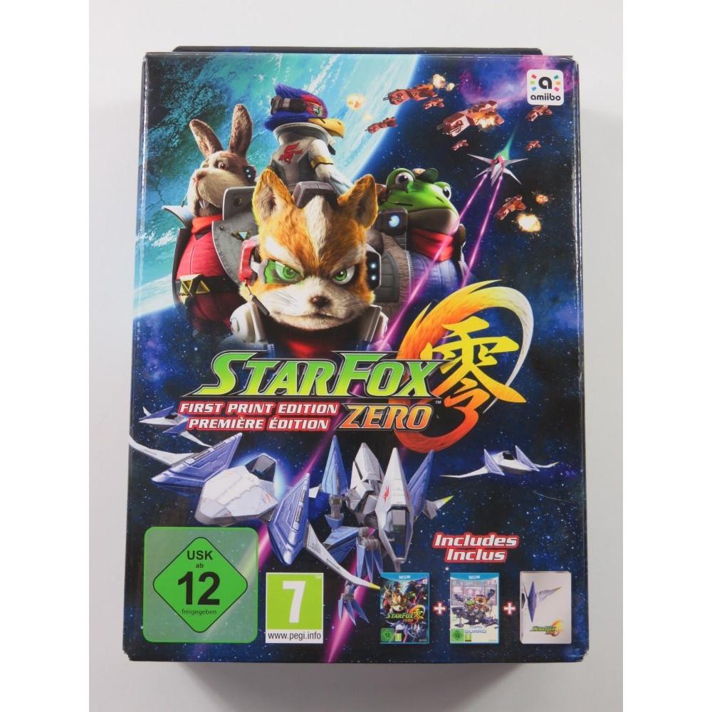 STARFOX ZERO FIRST PRINT EDITION WII U PAL-EURO (NEUF - BRAND NEW)
