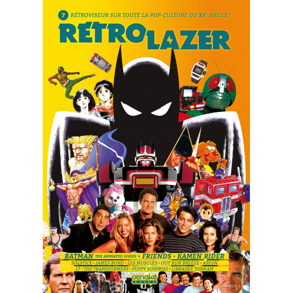 RETRO LAZER VOLUME 7 OMAKE BOOKS POP CULTURE NEW
