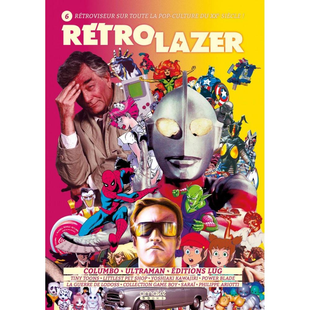RETRO LAZER VOLUME 6 OMAKE BOOKS POP CULTURE NEW
