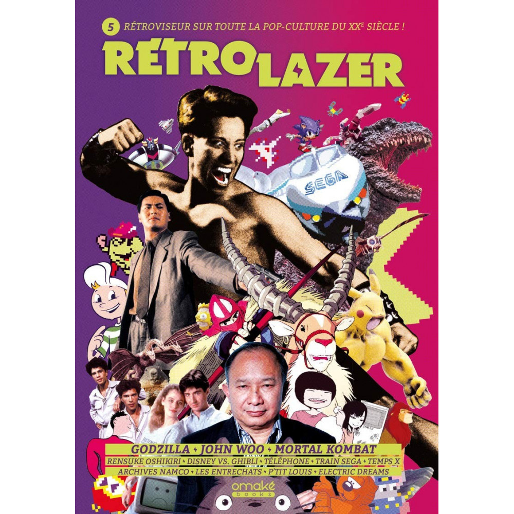 RETRO LAZER VOLUME 5 OMAKE BOOKS POP CULTURE NEW