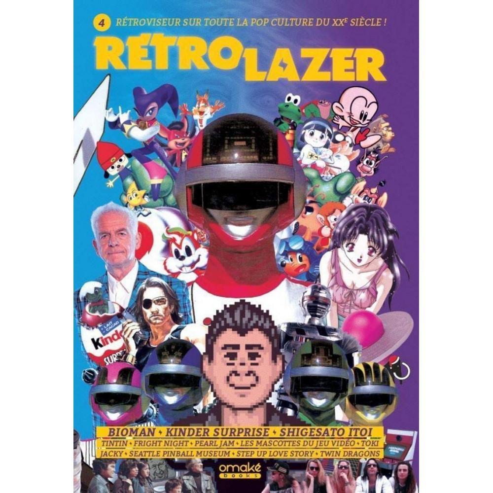 RETRO LAZER VOLUME 4 OMAKE BOOKS POP CULTURE NEW