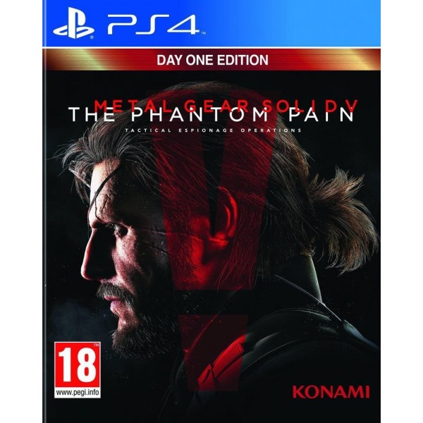 METAL GEAR SOLID 5 PHANTOM PAIN DAY ONE PS4 FR OCCASION